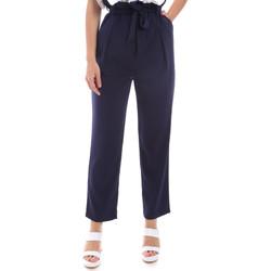 Odjeća Žene  Chino hlačei hlače mrkva kroja Gaudi 011BD25040 Plava