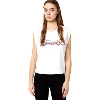 Odjeća Žene  Majice kratkih rukava Liu Jo FA0113 J5940 Bijela