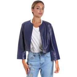 Odjeća Žene  Kožne i sintetičke jakne Fracomina FR20SM708 Plava