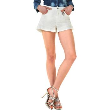 Odjeća Žene  Bermude i kratke hlače Liu Jo F18281T9411 Bijela