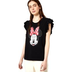 Odjeća Žene  Majice kratkih rukava Liu Jo FA0408 J5904 Crno