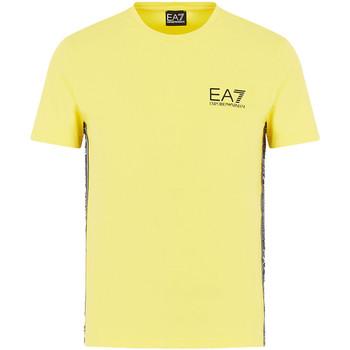 Odjeća Muškarci  Majice kratkih rukava Emporio Armani EA7 3HPT07 PJ03Z Žuta boja