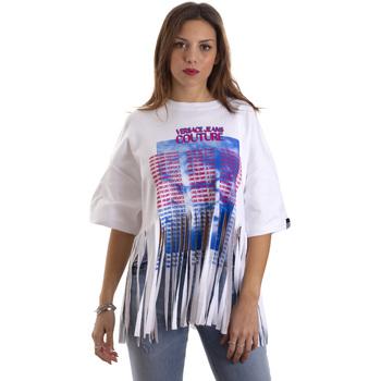 Odjeća Žene  Majice kratkih rukava Versace B2HVB7V730384003 Bijela