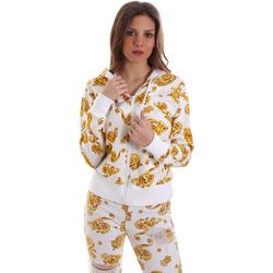 Odjeća Žene  Sportske majice Versace B6HVB796SN500003 Bijela