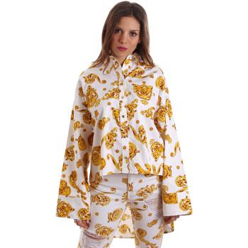 Odjeća Žene  Košulje i bluze Versace B0HVB624S0771003 Bijela
