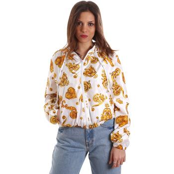 Odjeća Žene  Sportske majice Versace C9HVB92525115003 Bijela