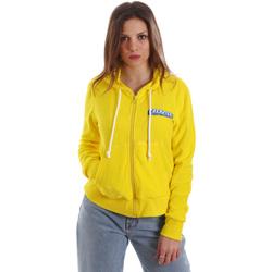 Odjeća Žene  Sportske majice Versace B6HVB79715633630 Žuta boja