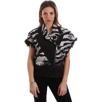 Odjeća Žene  Kratke jakne Versace C0HVB92DHRC5X899 Crno