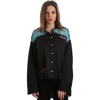 Odjeća Žene  Košulje i bluze Versace B0HVB60310623899 Crno