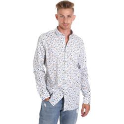 Odjeća Muškarci  Košulje dugih rukava Sseinse CE491SS Bijela