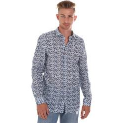 Odjeća Muškarci  Košulje dugih rukava Sseinse CE508SS Plava