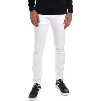 Odjeća Muškarci  Slim traperice Gaudi 011BU25061 Bijela