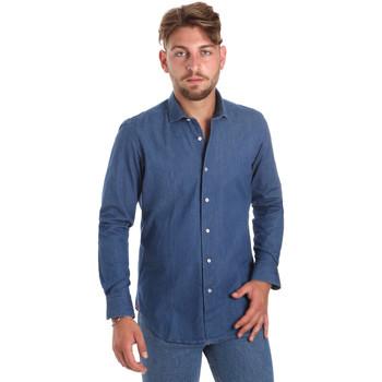 Odjeća Muškarci  Košulje dugih rukava Betwoin DENIM78 6635535 Plava