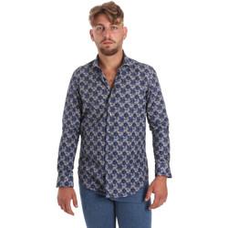 Odjeća Muškarci  Košulje dugih rukava Betwoin DB111 Plava
