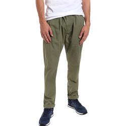 Odjeća Muškarci  Chino hlačei hlače mrkva kroja Gaudi 011BU25015 Zelena