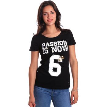 Odjeća Žene  Majice kratkih rukava Gaudi 811FD64056 Crno