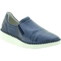 Obuća Žene  Slip-on cipele Mally 5711 Plava