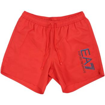 Odjeća Muškarci  Kupaći kostimi / Kupaće gaće Emporio Armani EA7 902000 0P738 Crvena
