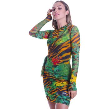 Odjeća Žene  Kratke haljine Versace D2HVB495S0782983 Crno