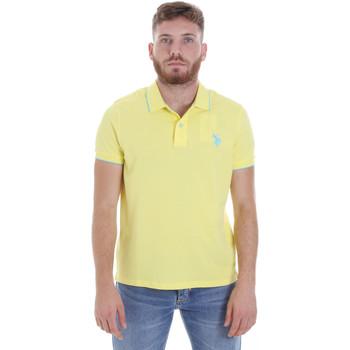 Odjeća Muškarci  Polo majice kratkih rukava U.S Polo Assn. 58561 41029 Žuta boja