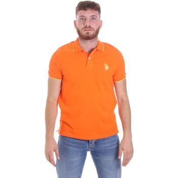 Odjeća Muškarci  Polo majice kratkih rukava U.S Polo Assn. 58561 41029 Naranča