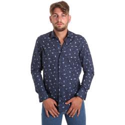 Odjeća Muškarci  Košulje dugih rukava Betwoin D092 6635535 Plava