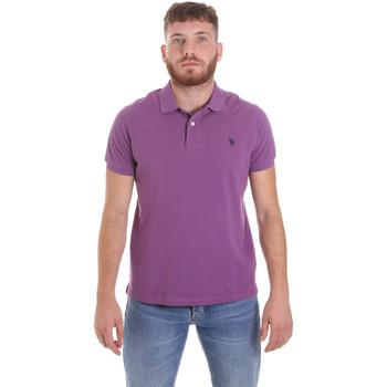 Odjeća Muškarci  Polo majice kratkih rukava U.S Polo Assn. 55957 41029 Ljubičasta