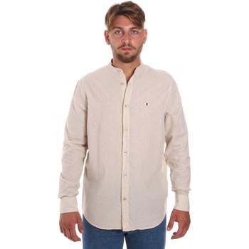 Odjeća Muškarci  Košulje dugih rukava Les Copains 9U2722 Bež