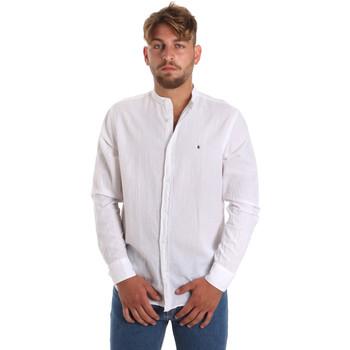 Odjeća Muškarci  Košulje dugih rukava Les Copains 9U2722 Bijela