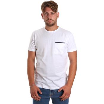 Odjeća Muškarci  Majice kratkih rukava Antony Morato MMKS01798 FA100212 Bijela