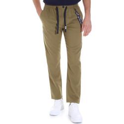 Odjeća Muškarci  Chino hlačei hlače mrkva kroja Tommy Jeans DM0DM07826 Zelena