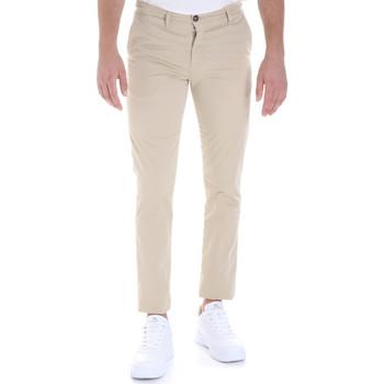 Odjeća Muškarci  Chino hlačei hlače mrkva kroja Les Copains 9U3320 Bež