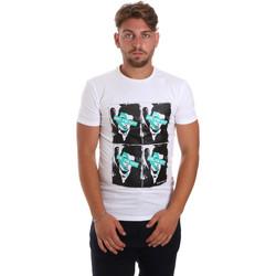 Odjeća Muškarci  Majice kratkih rukava Antony Morato MMKS01743 FA120001 Bijela