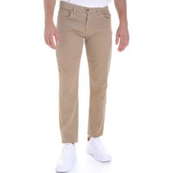Odjeća Muškarci  Hlače s pet džepova Les Copains 9U3022 Bež