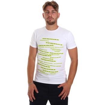 Odjeća Muškarci  Majice kratkih rukava Antony Morato MMKS01749 FA120001 Bijela