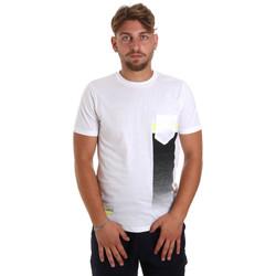 Odjeća Muškarci  Majice kratkih rukava Antony Morato MMKS01794 FA100189 Bijela