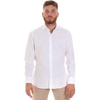 Odjeća Muškarci  Košulje dugih rukava Les Copains 000.076 P3196 Bijela