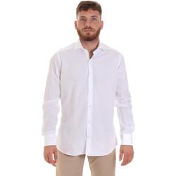 Odjeća Muškarci  Košulje dugih rukava Les Copains 000.006 P3196SL Bijela