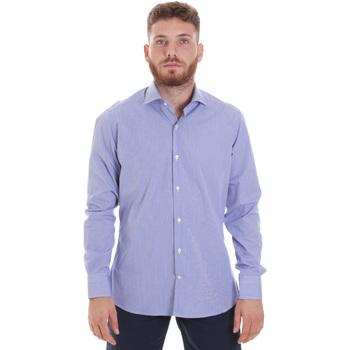 Odjeća Muškarci  Košulje dugih rukava Les Copains 20P.621 P3196SL Plava