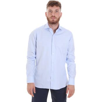 Odjeća Muškarci  Košulje dugih rukava Les Copains 20P.887 P3196SL Plava