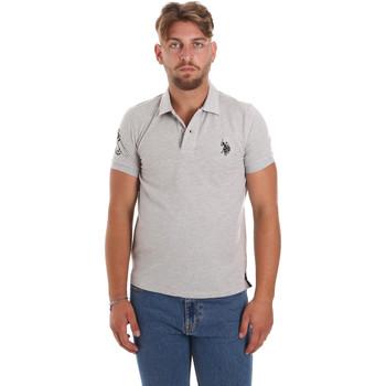 Odjeća Muškarci  Polo majice kratkih rukava U.S Polo Assn. 55985 41029 Siva