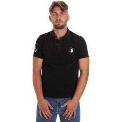 Odjeća Muškarci  Polo majice kratkih rukava U.S Polo Assn. 55985 41029 Crno
