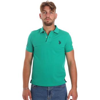Odjeća Muškarci  Polo majice kratkih rukava U.S Polo Assn. 55985 41029 Zelena