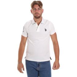 Odjeća Muškarci  Polo majice kratkih rukava U.S Polo Assn. 55985 41029 Bijela