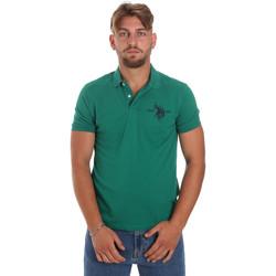 Odjeća Muškarci  Polo majice kratkih rukava U.S Polo Assn. 55959 41029 Zelena