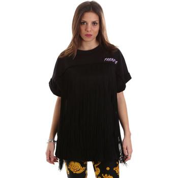 Odjeća Žene  Sportske majice Versace B6HVB79813956899 Crno