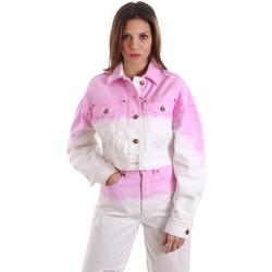 Odjeća Žene  Sportske majice Versace C0HVB96MHRC5C445 Bijela