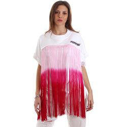Odjeća Žene  Sportske majice Versace B6HVB76713956003 Bijela