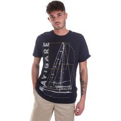 Odjeća Muškarci  Majice kratkih rukava Navigare NV31109 Plava