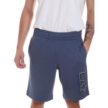 Odjeća Muškarci  Bermude i kratke hlače Ea7 Emporio Armani 3HPS73 PJ05Z Plava